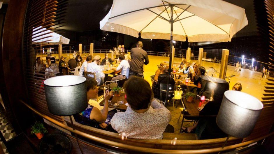 Cocktailbar Hitoires d'O zeedijk Oostende
